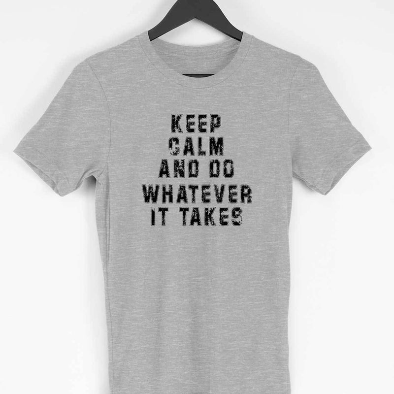 Marvel Avengers Endgame: Keep Calm And Do Whatever It Takes Men T Shirt - leavf