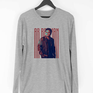 AR Rahman Men's Custom Printed T-shirt Full Sleeve Round Neck - leavf