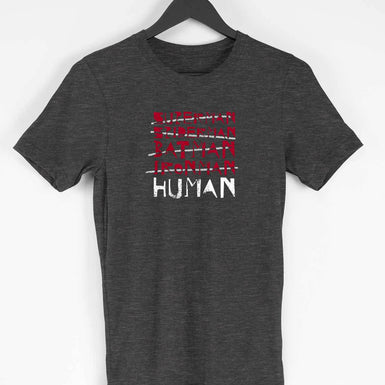 Human T-shirt Men's Clothing - leavf