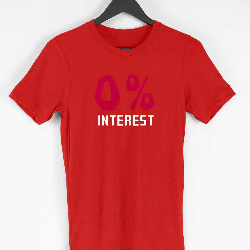 I'm Not Interested T-shirt Men's Clothing - leavf