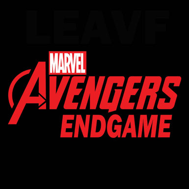 Marvel Avengers Endgame: Women's Premium half sleeve T Shirt Red textured - leavf