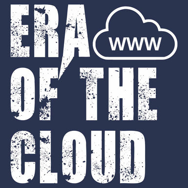 MENS ROUND NECK ERA OF THE CLOUD T SHIRT - leavf