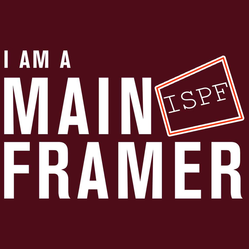 Mainframe Developer Funny Ladies Maroon T Shirt - leavf