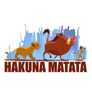 Lion King's Crop Top Hakuna Matata - leavf