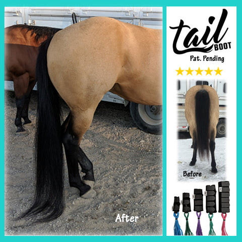 2nd Generation Tail Boot (NEW SIZING) - Tail Boot - Tail Bag for Horses