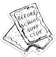 BWSC Before School Poptart Sticker