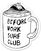 BWSC Coffee Break Sticker