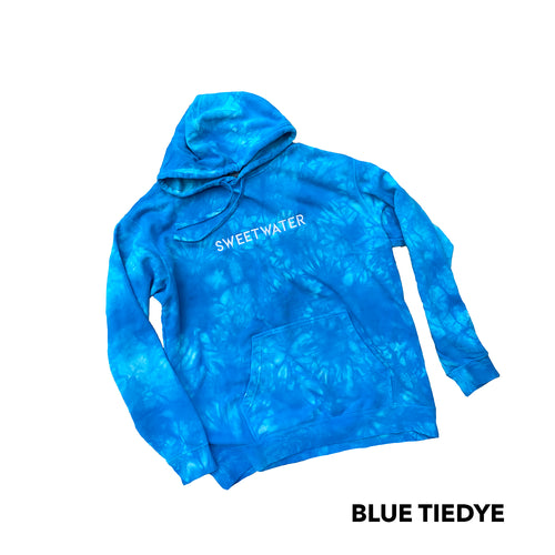 SW Embroidery Tie Dye Hoodie