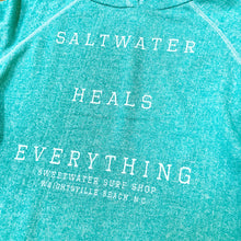 Load image into Gallery viewer, Women's Saltwater Heals Everything Hoodie