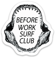 BWSC Shark Bait Sticker