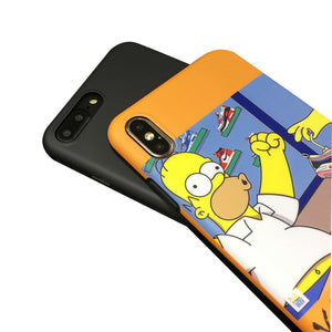 Homer Simpson Air Jordan Air Max Custom Limited iPhone Case