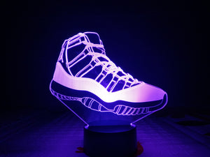 Air Jordan Retro 11 3D LED Multi Color Change Night Light Lamp