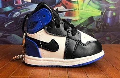 Pure Handmade Air Jordan 1 Fragment Bag Charm