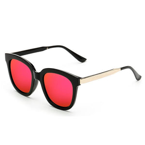 Fashion Cool Outdoor Women Vintage Square Mirror Eyewear Sunglasses Driving Travel Sunglasses