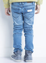 Load image into Gallery viewer, Biker Jeans Light Wash