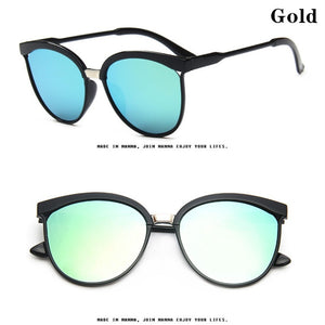 2019 Cat Eye Sunglasses Women Luxury Plastic Sun Glasses Classic Retro Outdoor Eyewear Oculos De Sol Gafas