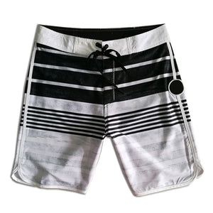 Board Shorts Mens Quick Dry Beach Shorts Elastic Surfing Fitness Gym Shorts