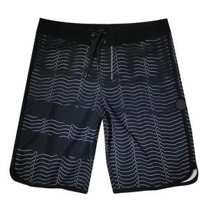 Phantom Brand Men Elastic Beach Surfing Shorts Spandex Waterproof Board shorts Bermuda SwimTrunks