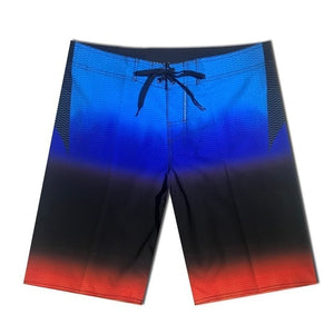 Phantom Board Shorts Quick Dry ElasticBeach Shorts Surfing Fitness Gym Shorts
