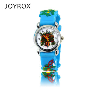 JOYROX Ninja Turtle Rubber Strap Quartz Wristwatch