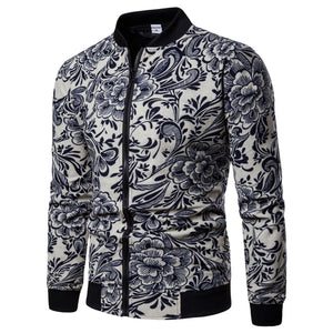 Fashion Print Street Style Men Jacket