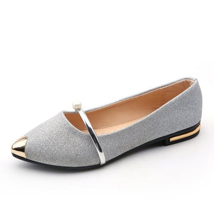 Ladies Flat Casual Women Comfortable Pointed Toe