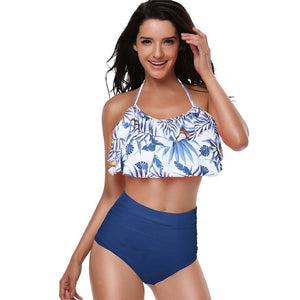 Bikini 2019 Mujer High Waist Swimsuits Push Up Bathing Suits