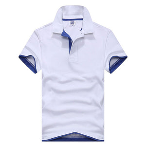 New 2019 Men's brand men Polo shirt D esigual Men's cotton short-sleeved polo shirt sweatshirt T-ennis Free shipping XS-3XL