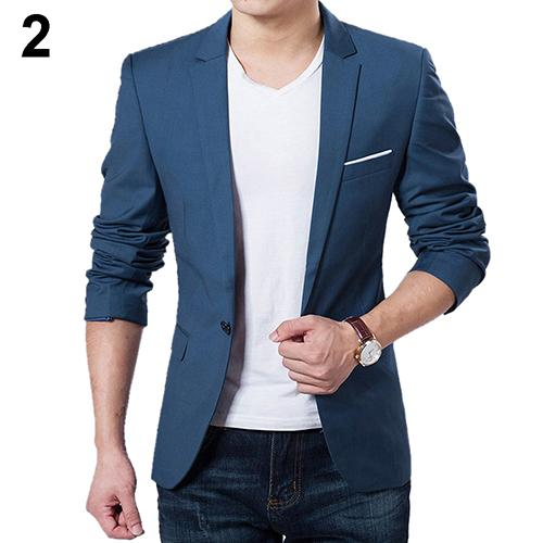 New Arrival Luxury Men Blazer New Spring Fashion High Quality Cotton Slim Fit Men Suit Terno Blazers Men