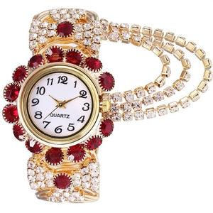 Luxury Rhinestone Bracelet Watch Wristwatch