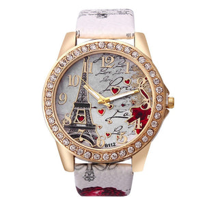 Vintage Paris Eiffel Tower Women's Quartz Watch