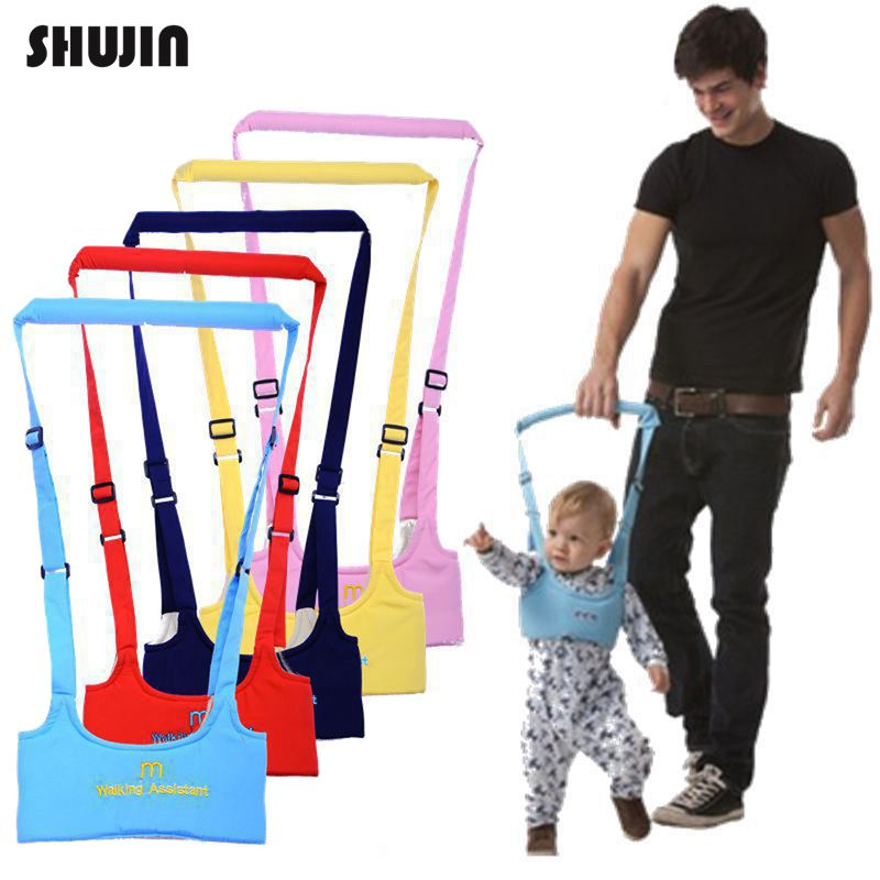 Shujin Baby Walker Harness Assistant Toddler Leash for Kids Learning Walking Baby Belt Child Safety Harness Assistant 5 Colors