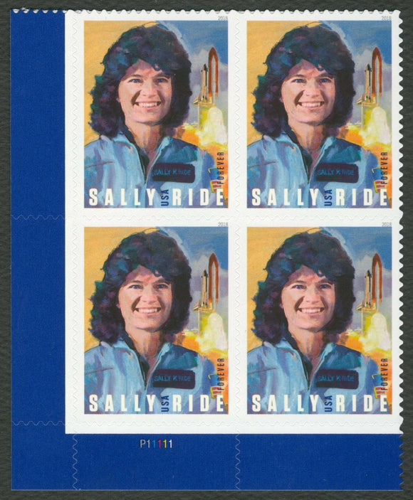 Sally Ride 1st USA Woman In Space Block Of 4 Forever Postage Stamps - MNH, OG - Sc# 5283