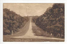 Load image into Gallery viewer, 1923 Britain Photo Postcard - Windsor Castle Long Walk - Read (AJ62)