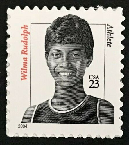 Wilma Rudolph Single 23c Postage Stamp - Sc# - 3422 - MNH, OG - DM101c