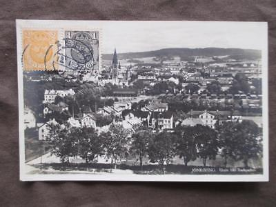 Est 1911 Sweden Photo Postcard - Jonkoping (VV77)