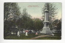 Load image into Gallery viewer, Posted 1913 USA Postcard - City Park, Fulton, NY - Read Reverse (AT104)