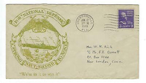 "VEGAS - 1949 USA ""Strong Navy Second To None - In It To Win It"" Cover - ED11"