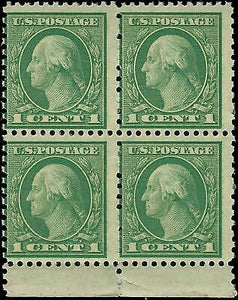 VEGAS - 1919 - Sc# 538 - MNH, OG - Blk Of 4 - Perf 11x10 - READ - DX60