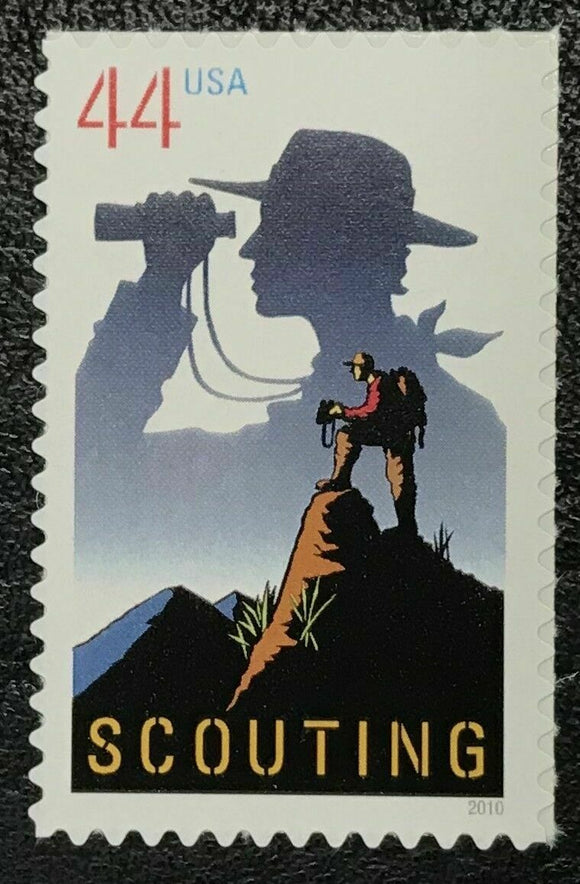 2010 Boy Scouts of America Single 44c Postage Stamp - MNH, OG - Sc# 4472