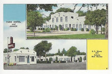 Load image into Gallery viewer, Vintage USA Picture Postcard - Park Motel & Annex, Artesia, NM (AO53)