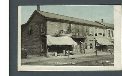 VEGAS - 1910 Posted Niles, OH - President McKinleys Birthplace Postcard - FD390