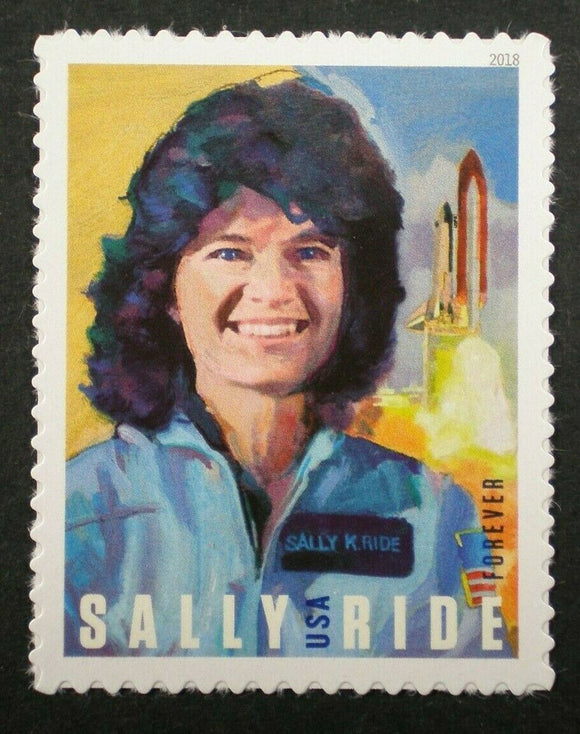 Sally Ride 1st USA Woman In Space Single Forever Postage Stamp - MNH, OG - Sc# 5283