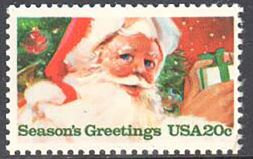 1983 Christmas - Santa- Single 20c Postage Stamp Sc# 2064 -MNH, OG - DS157