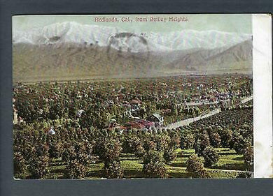 VEGAS - 1907 Photo Postcard - Redlands, CA From Smiley Heights - FD337