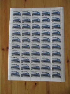 VEGAS-1982 Grenada Sc# 1125 -MNH, OG Rare Sheet Of 50- Cat= $150! (CS32)