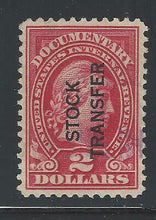 Load image into Gallery viewer, VEGAS 1928 USA Revenue Sc# RD31 - VF+ - Barely Trace Cancel (DA26)