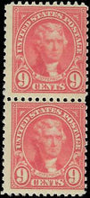 Load image into Gallery viewer, VEGAS - 1922-25 - Sc# 561 Pair - MNH, Slight Disturbed OG On One - DY31