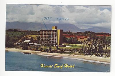Est About 1960s USA Picture Postcard - Kauai Surf Hotel, Hawaii (AM4)