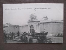 Load image into Gallery viewer, Probably 1906 Marseille Colonial Expo Photo Postcard - Grand Palace (VV35)